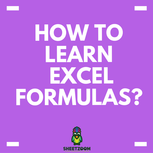 How to Learn Excel Formulas?